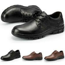 Mens Faux Leather Business Leisure Shoes Round Toe Work Office Breathable Chic L