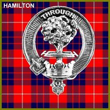 Hamilton Scottish Clan Badge, Pewter