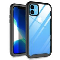 For iPhone 11 Hybrid Shockproof Armor Case Protective Rugged Anti-slip Cover