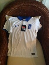 NIKE GREECE 2014/2015 NWT $75 Soccer Jersey/shirt Football Size L Youth Unisex