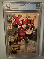 X-MEN # 32 CGC 4.0 - Juggernaut