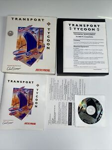 Transport Tycoon for PC CD-ROM in Big Box by MicroProse, 1994