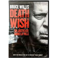 Death Wish. New DVD. French and English. Bruce Willis.