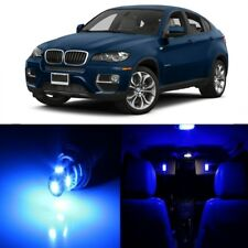 21 x Error Free Blue LED Interior Light Kit For 2008-2015 BMW X6 Series + TOOL
