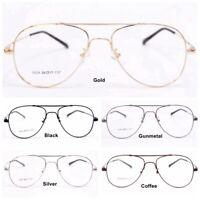 Flexible Eyeglass Frames Titanium Alloy Optical Glasses Pilot Rx Eyewears D221