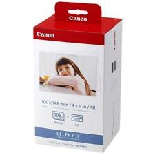 Canon kp-108 en papel + cinta de impresora 10x15 108 ex.