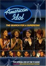 American Idol (DVD, 2002) MOVIE TV SHOW AMERICANIDOL SEARCH FOR A SUPERSTAR
