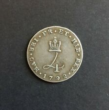 More details for 1792 maundy fourpence (george iii)