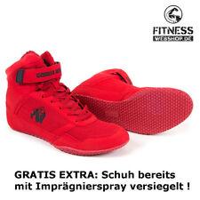 Gorilla Wear HIGH TOPS Fitness Bodybuilding MMA Sport Schuhe Sneaker Red / Rot