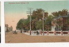 Dorchester Street Sydney CB Vintage Postcard Canada 424a