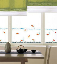 Fish Tank Design with Goldfish Nursery Children Kid Room Wall Sticker Art Decor