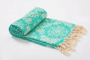 100% Cotton Premium Peshtemal Beach Towel Turkish Towel Beach Blanket &Beach Mat