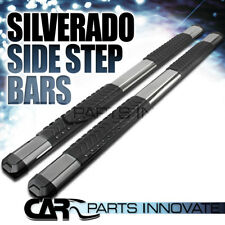 07-18 Silverado Extended Double Cab Running Boards Side Step Nerf Bars