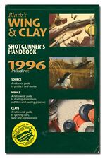 Black's Wing & Clay Shotgunner's Handbook 1996 PB  W6