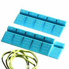 AngleGuide 10 to 20 Angle Guides Set for Sharpening Knife on Stone - Blue