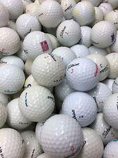100 Titleist  AA  Shag / Practice Used GOLF BALLS  FREE TEES