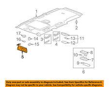 Hummer GM OEM 06-10 H3 Sunvisor-Sun Visor Right 15296730