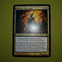 Lich Lord FOIL Time Spiral PLD Blue Black Rare MAGIC CARD ABUGames Dralnu