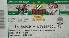 Foto ohne Signatur Mannschaftskarte Rapid Wien 2009