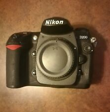 Nikon D200 10.2 MP Digital SLR Camera (Body Only)  .Read.