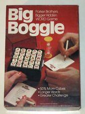 Vintage 1979 Parker Brothers BIG BOGGLE Game! Complete in Original Box!