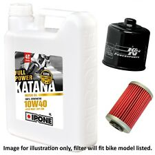 MZ Mastiff 660 17 Front/Cast Wheel 2004 Ipone Katana 10w40 / K&N Filter Kit