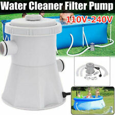 Electric Swimming Pool Filter Pump Water Cleaning Tool Above Ground Pool US/EU