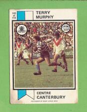 Canterbury Bulldogs 1974 Season NRL & Rugby League Trading Cards