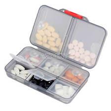 Pill Storage Box Medicine Case Pill Container Portable Outdoor Holder Organizer