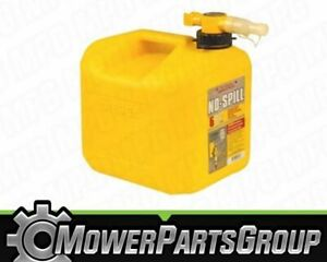 (1) No-Spill Diesel Fuel Can 5 gallon - EPA Approved