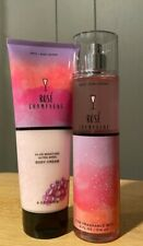 Bath & Body Works ROSE CHAMPAGNE Set Duo New Full Size