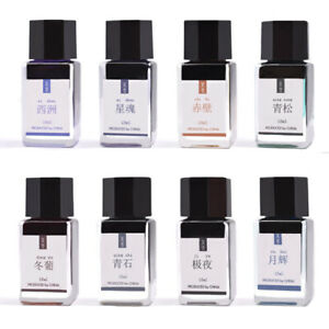 Glitter Powder Color Calligraphy Writing Painting Bottled Fountain Pen Ink