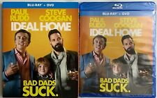 NEW IDEAL HOME BLU RAY + SLIPCOVER SLEEVE FREE WORLD SHIPPING PAUL RUDD COMEDY
