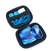 Anti-lost Carrying Storage Silicone Case Box Strap + Earbuds For Apple AirPods