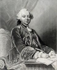 PORTRAIT du Duc de CHOISEUL, MINISTRE de LOUIS XV - Gravure du 19e siècle
