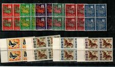Vietnam J1-6 NH (tropical gum) + J21-4 NH VF blocks (CV $78.00)