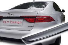 Jaguar tuning spoiler SCHWARZ lackiert heckspoiler lippe kofferraumlippe felgen