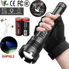 2PC 20000LM Shadowhawk CREE LED Flashlight Torch COB Work Lantern Floodlights