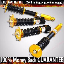 Fits Nissan 1995-1998 240SX S14 Full Coilover Suspension Set GOLD