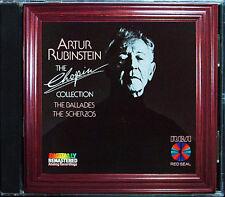 Artur Rubinstein: CHOPIN 4 Ballades 4 Scherzos RCA CD 1984 ballades Scherzi