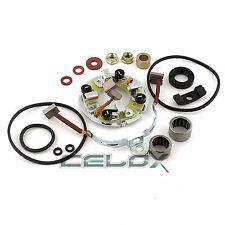 Starter Rebuild Kit For Yamaha 1600 XV1600 XVZ1600 Road Star 1999 2000 01 02 03