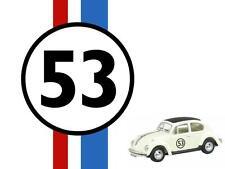 Herbie - Love Bug Race Car 53  Iron on transfer 5x7