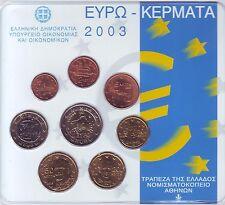 COFFRET  B U  GRECE    2003   1C  A  2€