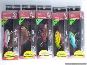 High Quality Yoshikawa Hitz Blade 50 10g x 5 fishing Lures, Bass, cod, barra,