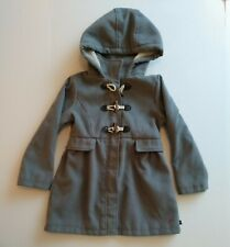 Nautica Winter Coat Little Girls Sz. 5  Hooded Grey