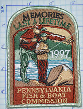 PENNSYLVANIA FISH & BOAT COMMISSION 1997 PATCH