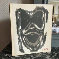 Retrospettiva Raoul Ubac Catalogue Expo 1968