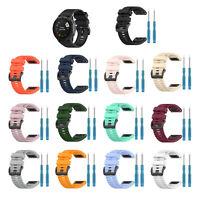 Correa de goma de 26 mm para reloj GPS Sapphire Garmin Fenix 6X / 6X PRO / 6X HY