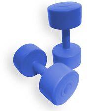 BodyRip Hand Weights Dumbbells Vinyl Dumbells 2 x 2kg Set Fitness Ladies