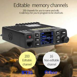 RT95 Car Two-Way Radio Station 200CH 25W High Power VHF UHF Mobile Radio